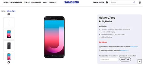 Harga Samsung J7 Pro Taiwan samsung galaxy j7 pro siap dijual di india berapa