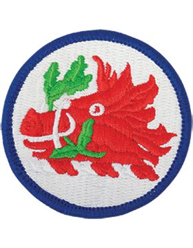 Hq 16081 Green Militery Patches Dress army patch color national guard northern safari army navy n g hq color