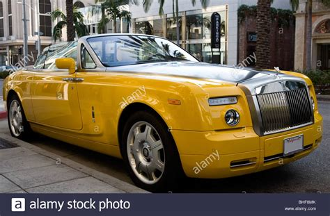 yellow rolls royce yellow rolls royce stock photos yellow rolls royce stock