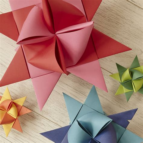 Origami Birthday Decorations - set of origami decorations by deja ooh