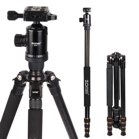 Monopod Kamera zomei z688 professional photographic travel compact aluminum heavy duty tripod monopod
