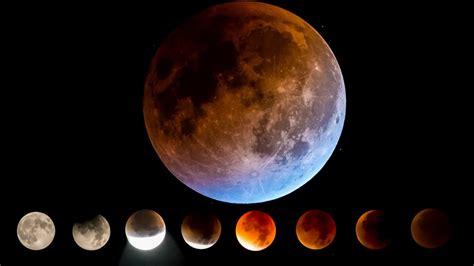 super blue blood moon lunar eclipse wallpaper  cute wallpapers