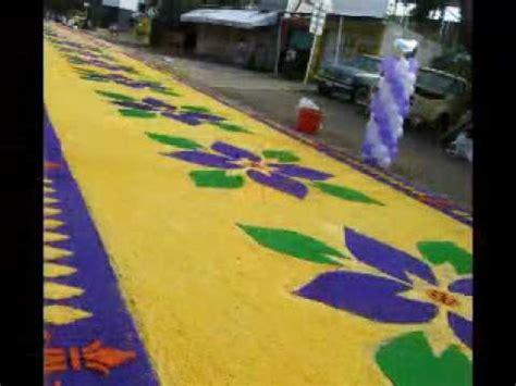 alfombras oaxaca alfombras de aserrin al se 241 or de los corazones huajuapan