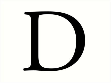 Name Letter D quot d alphabet letter delta denver a to z 4th