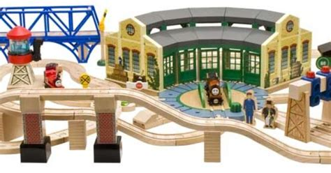 tidmouth sheds deluxe set layout table ideas