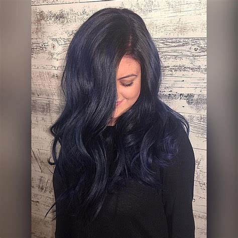 midnight blue hair color best 25 midnight blue hair ideas on midnight
