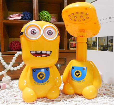 Tongsis Baymax 1 lu led meja kartun minion despicable me yellow jakartanotebook