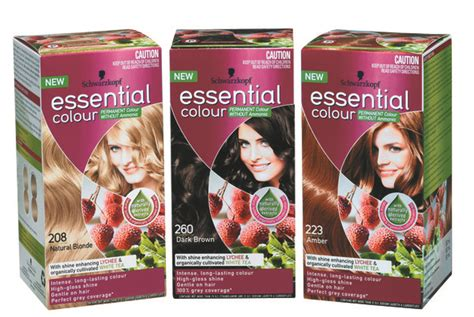 loreal schvarchom perfect mousse farbe za kosu schwarzkopf essential colour for hair colours pered by