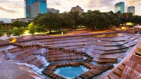 fort worth park fort worth water gardens sheraton fort worth downtown hotel