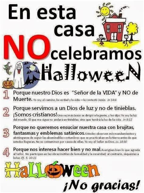 imagenes de yo no celebro halloween amigos de jes 218 s material de apoyo afiches anti halloween