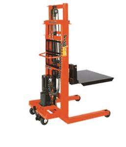 Rolling Storage Container - presto lifts ac electric stacker epf752 epf series
