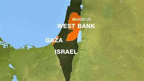 how big is the west bank palestinian killed dozens wounded in west bank clashes