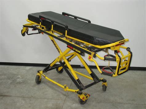 rugged stretcher patient handling gt stryker rugged 6080 mx pro ambulance cot