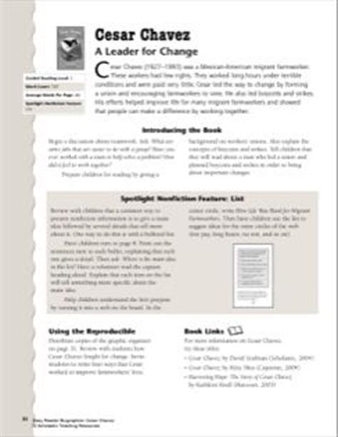 Cesar Chavez Worksheet by 1000 Images About Cesar Chavez Day On Cesar