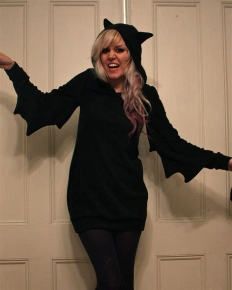 Bba3008 Dress Kostum Hoodie bat dress made to order dresses for work bat and black hoodie