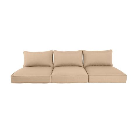 replacement garden sofa cushions brown greystone harvest replacement outdoor sofa