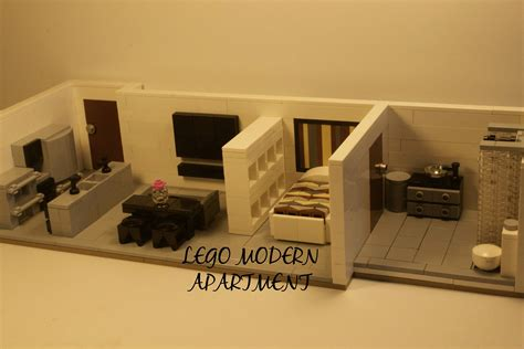 lego modular tutorial lego modern apartment moc youtube