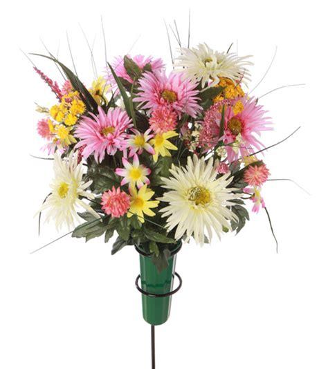 Graveside Silk Flower Arrangements | graveside silk flower arrangements