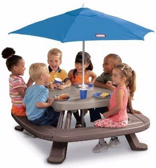 Tikes Fold N Store Table by Top 10 Best Picnic Tables In 2017 Reviews