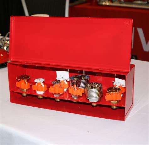 spare sprinkler head storage cabinet fire sprinkler head box 12 spare argco com