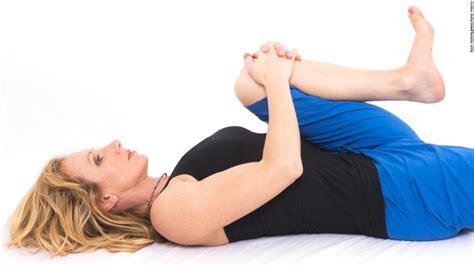 bed time yoga yoga for sleep 4 bedtime poses cnn com
