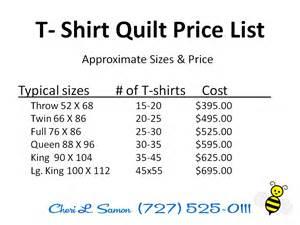 custom tshirt quilt t shirt quilting pricing custom t