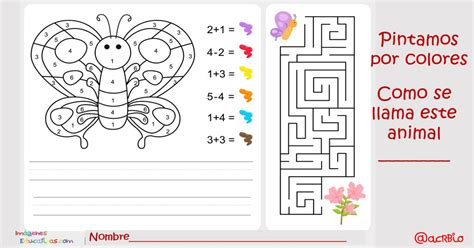 Imagenes De Actividades Matematicas | pintamos por colores y n 250 meros actividades matem 225 ticas