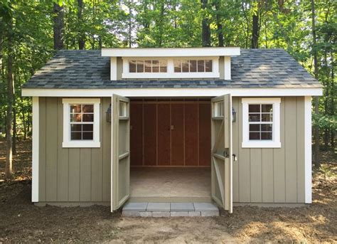 Outdoor Workshop Shed by 25 Best Ideas About Amish Sheds On Sheds