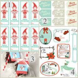 free printable christmas gift tags christmas printables