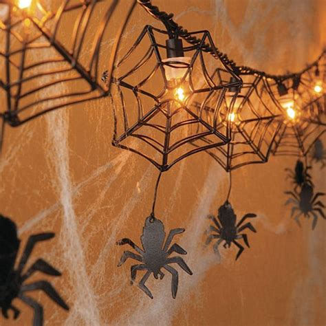 spider web decoration 20 more decorating ideas for a spooky celebration
