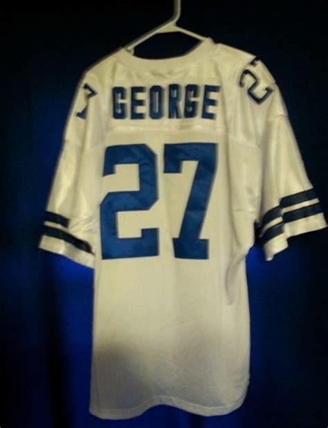 throwback white walt garrison 32 jersey eternal p 223 27 eddie george dallas cowboys nfl running back 2004