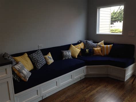 custom cushions custom cushion sewn banquette seat bench cushion with