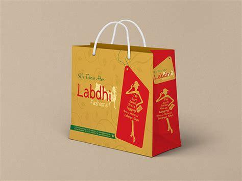bag design packaging bag design ahmedabad for labdhi fashion