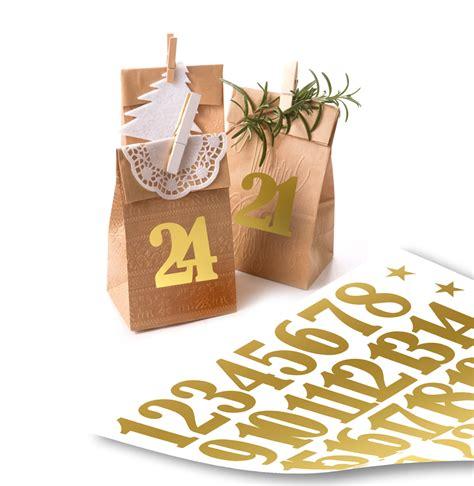 Aufkleber Sonne Gold by Zahlen Aufkleber F 252 R Adventskalender Matt Gold