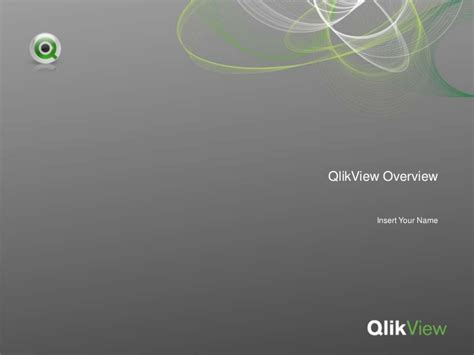 qlikview tutorial ppt qlik view corporate overview ppt presentation