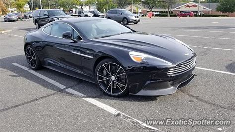 Aston Martin New Jersey by Aston Martin Vanquish Spotted In Bernardsville New Jersey