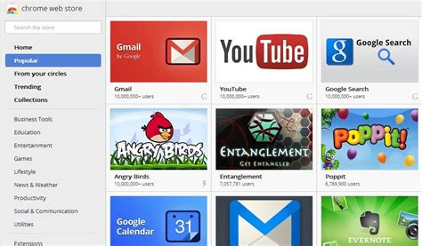 chrome google webstore google updates chrome web store new search ui eases