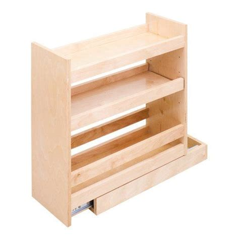base cabinet organizer pull out base pull out spice rack cabinet fits 9 inch height