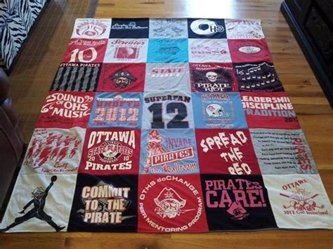 Repat Quilt by Pirate Pride Project Repat T Shirt Quilts