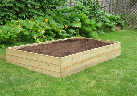 Wooden Raised Garden Bed Kits by 8ft X 4ft Wooden Raised Bed Kit Access Garden Products