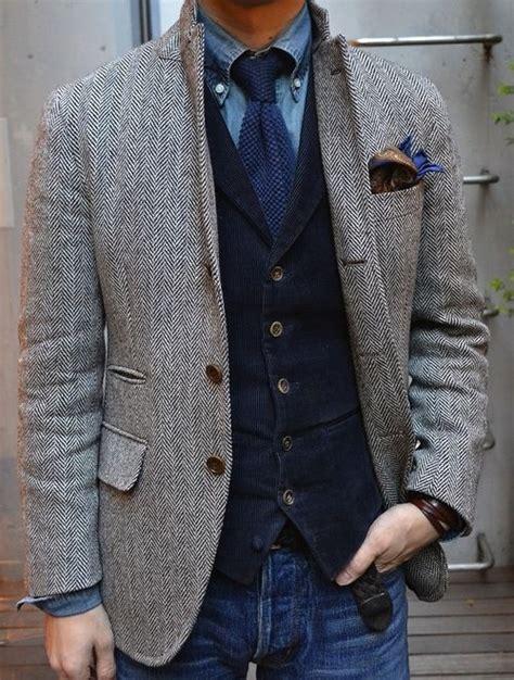 Style Ideas How To Wear Menswear Herringbone Second City Style Fashion by 2018 Gray Wool Herringbone Tweed Tuxedo Jacket