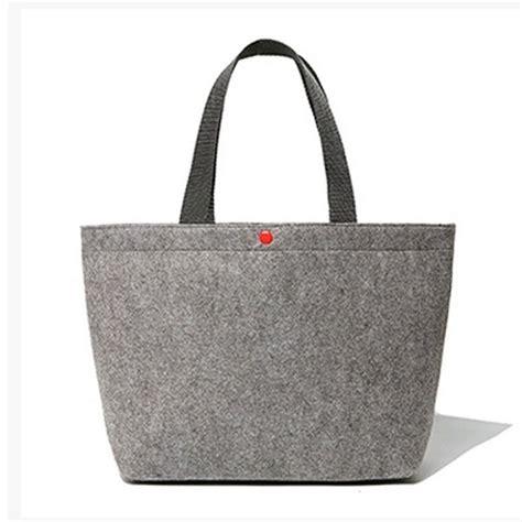 fashionable handmade wool tote s tote felt bag