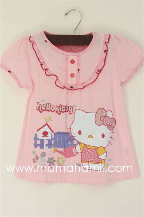 Kaos Anak Hello Pelangi 5 Tahun Kaos Anak Karakter Perempuan new baju muslim anak perempuan hello