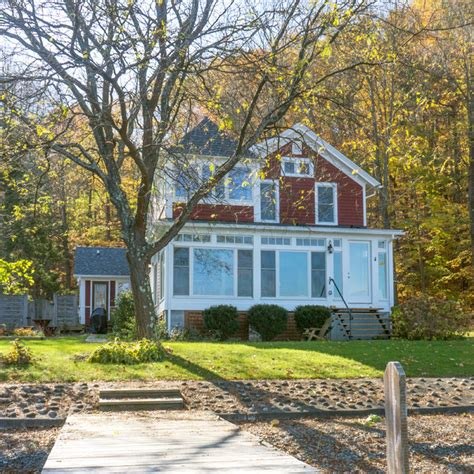 cottages for sale on canandaigua lake canandaigua lake cottage traditional exterior new