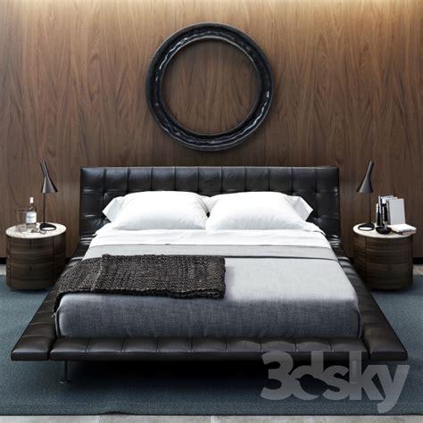 letto onda poliform 3d models bed poliform onda bed