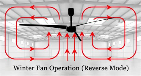 Ceiling Fans Winter Mode by Hvls Ceiling Fans Swifter Fans