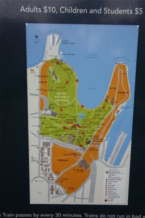 Sydney Botanic Gardens Map 200th Anniversary In 2016 Picture Of Royal Botanic Gardens Sydney Tripadvisor