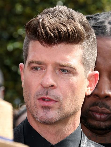 robin hecke robin thicke picture 178 2015 bet awards arrivals