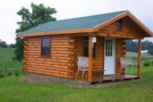 sheds ottors cabin plans free details