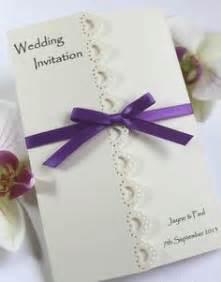 Handmade Invites - beautiful personalised handmade wedding
